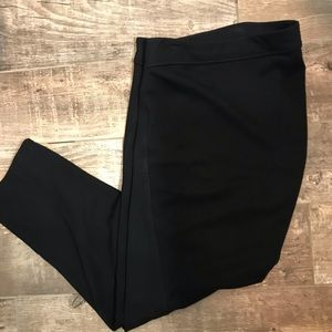Lynn Ritchie Silver black pull on pants